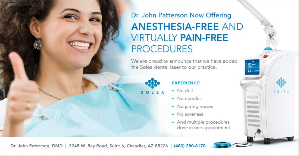 SOLEA No Pain Dentistry Banner